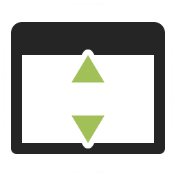 Window Height Icon 256x256