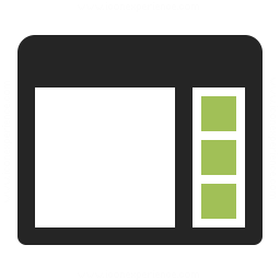 Window Sidebar Icon 256x256