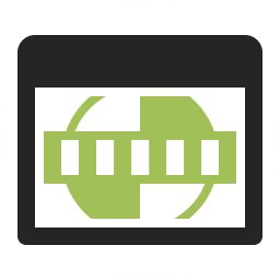 Window Test Card Icon 256x256