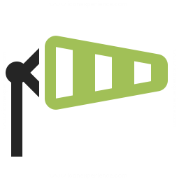 Windsock Icon 256x256