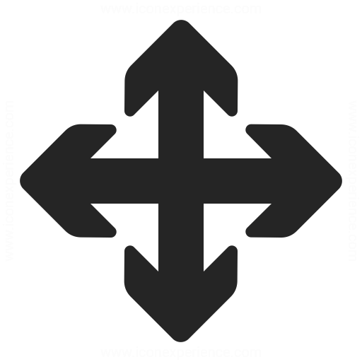 Arrow Cross Icon