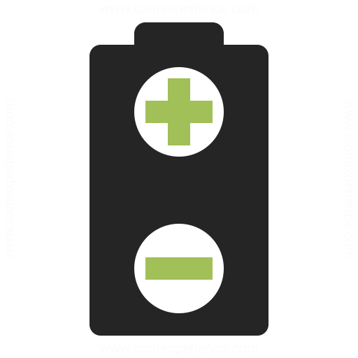 Battery Plus Minus Icon