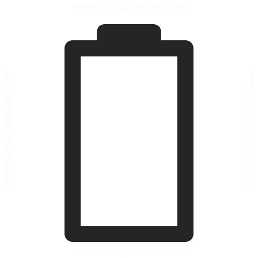 Battery Status 0 Icon