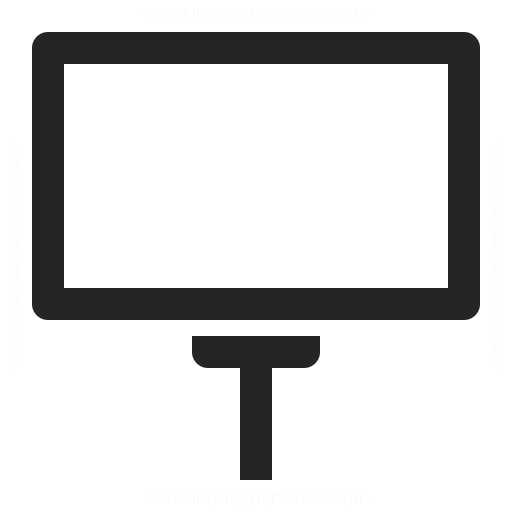 Billboard Empty Icon