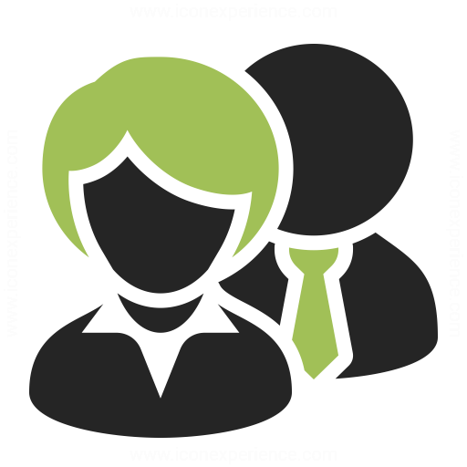 Businesspeople 2 Icon & IconExperience - Professional