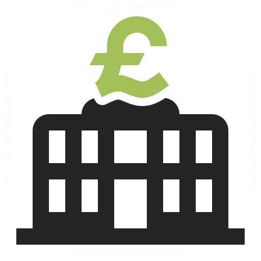 Central Bank Pound Icon