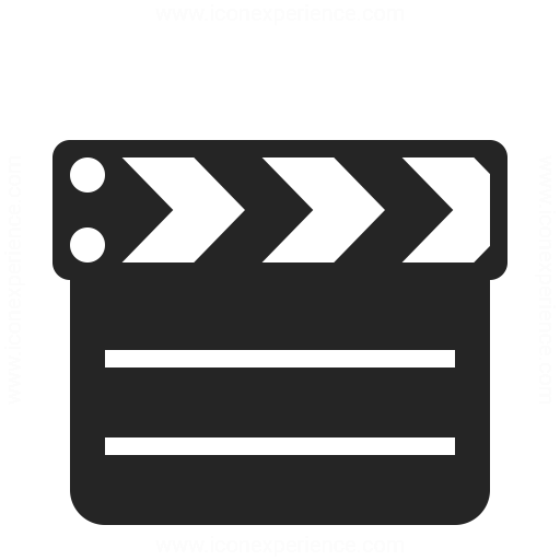 Clapperboard Closed Icon