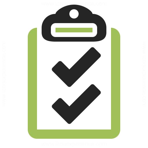Clipboard Checks Icon