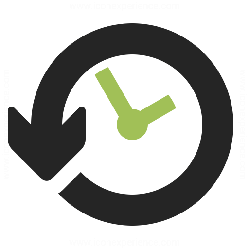 Clock Back Icon