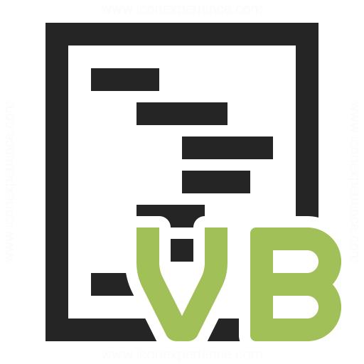 Code Vbasic Icon
