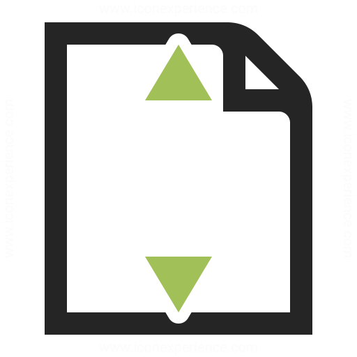 Document Height Icon