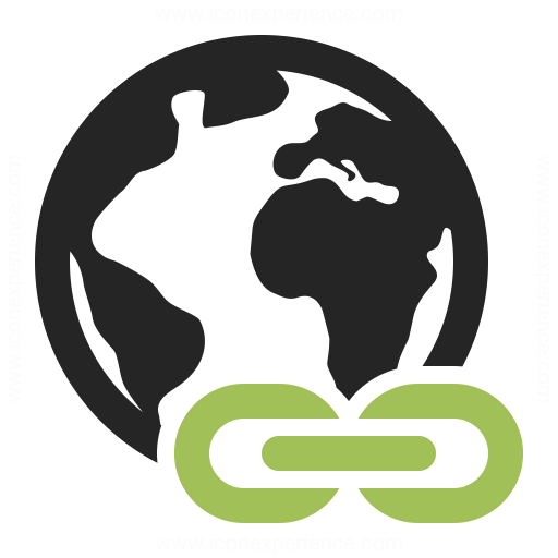 Earth Link Icon