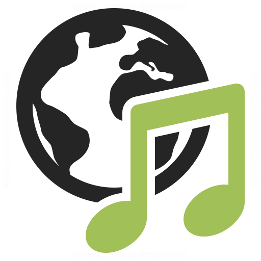 Earth Music Icon