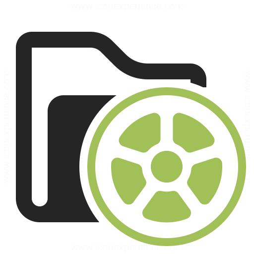 Folder Movie Icon