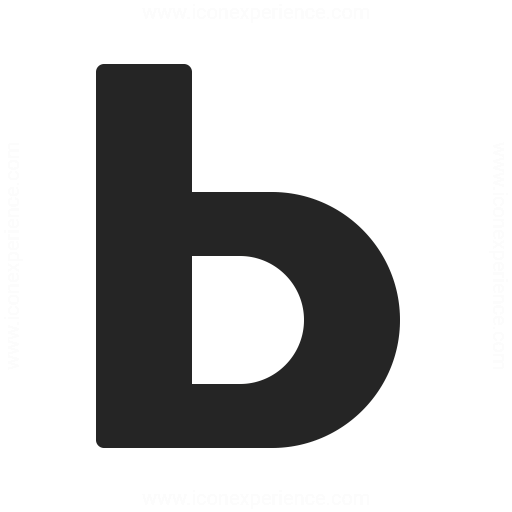 Font Style Bold Icon