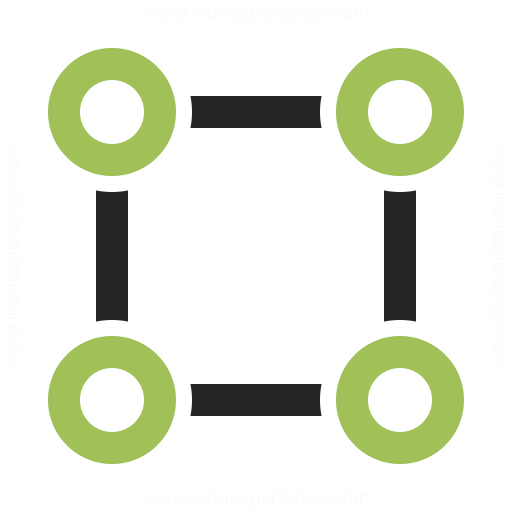 Graph Square Icon