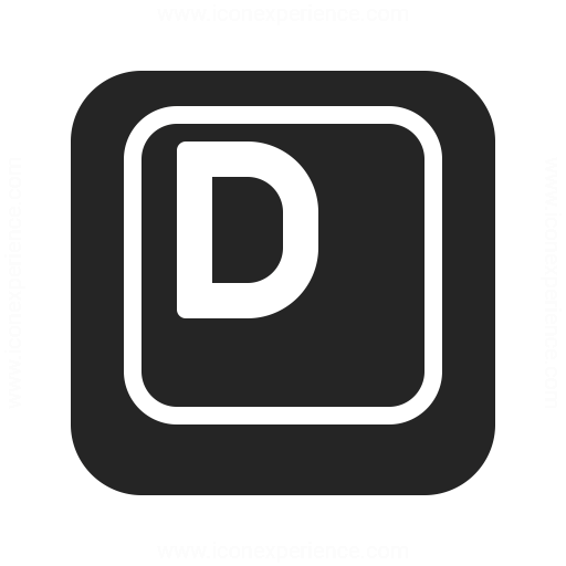 Keyboard Key D Icon