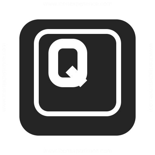 Keyboard Key Q Icon