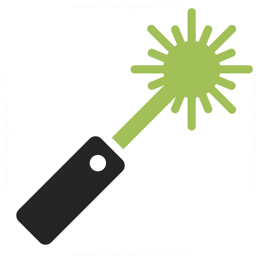 Laser Pointer Icon