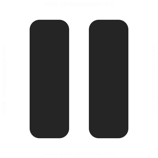 Media Pause Icon