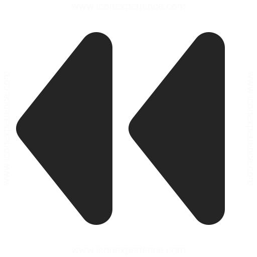Media Rewind Icon