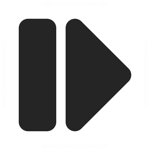 Media Step Forward Icon