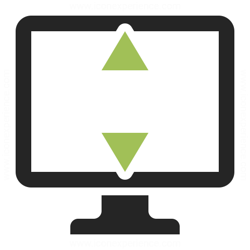 Monitor Height Icon