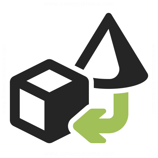 Objects Transform 2 Icon