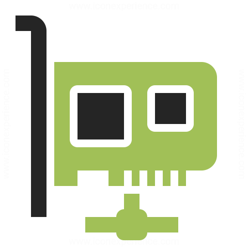 Pci Card Network Icon