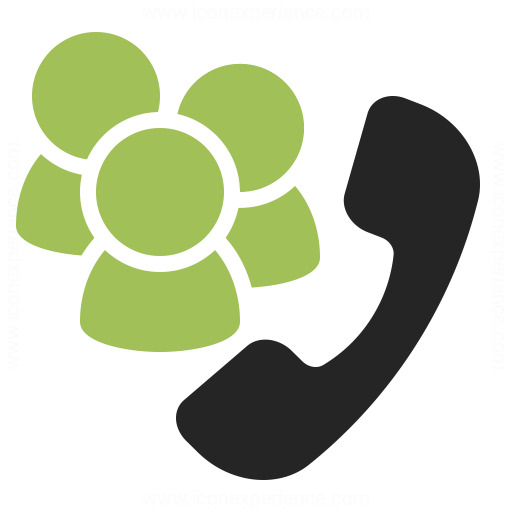 Phone Conference Icon