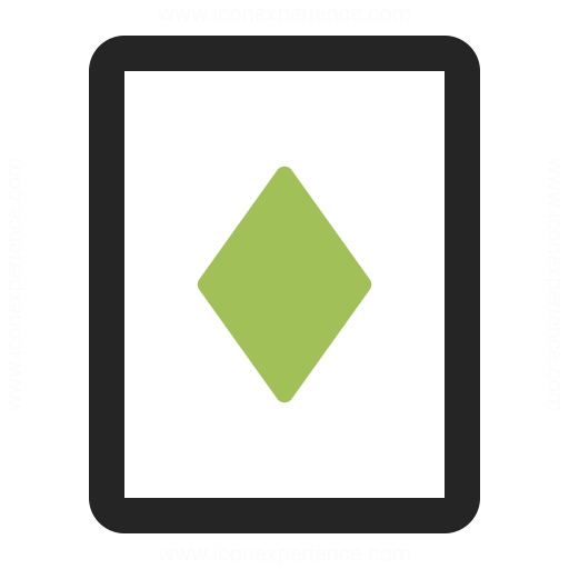 Playing Card Diamonds Icon