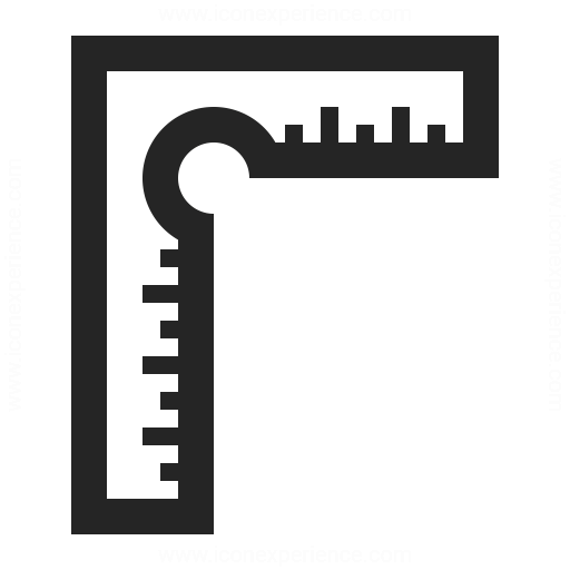 Precision Square Icon