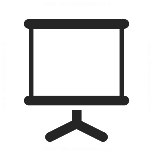 Presentation Empty Icon