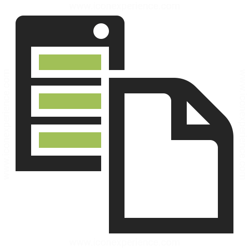 Server Document Icon