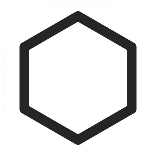 Shape Hexagon Icon