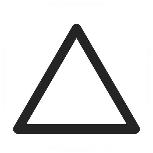 Shape Triangle Icon