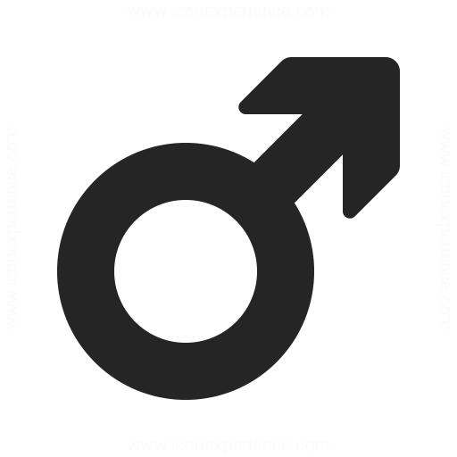 Symbol Male Icon
