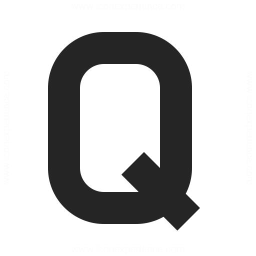 Symbol Q Icon