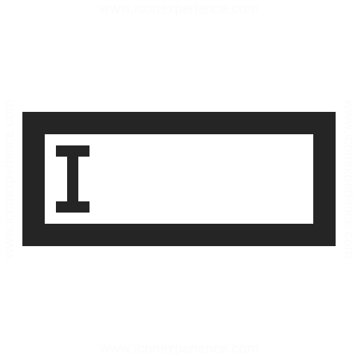 Text Field Icon