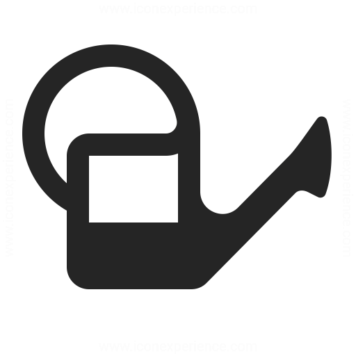 Watering Can Half Icon