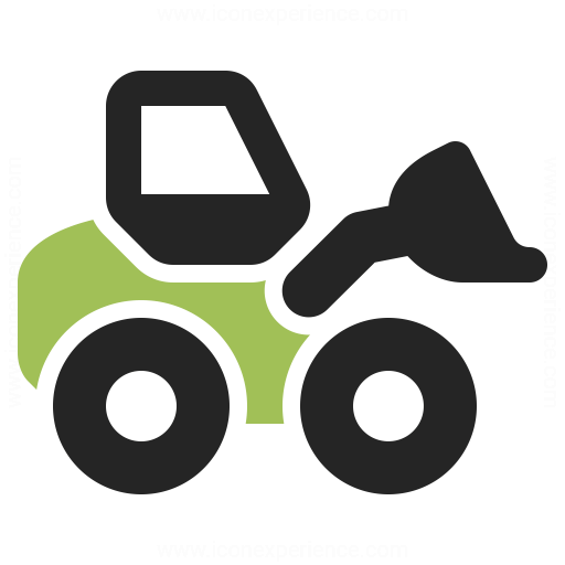 Wheel Loader Icon