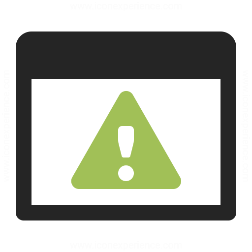 Window Warning Icon