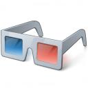 3d Glasses Icon 128x128