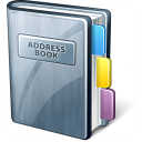 Address Book Icon 128x128