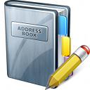 Address Book Edit Icon 128x128
