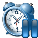 Alarmclock Pause Icon 128x128