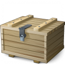 Ammunition Box Closed Icon 128x128