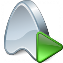 Application Run Icon 128x128