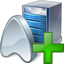 Application Server Add Icon 128x128