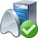 Application Server Ok Icon 128x128
